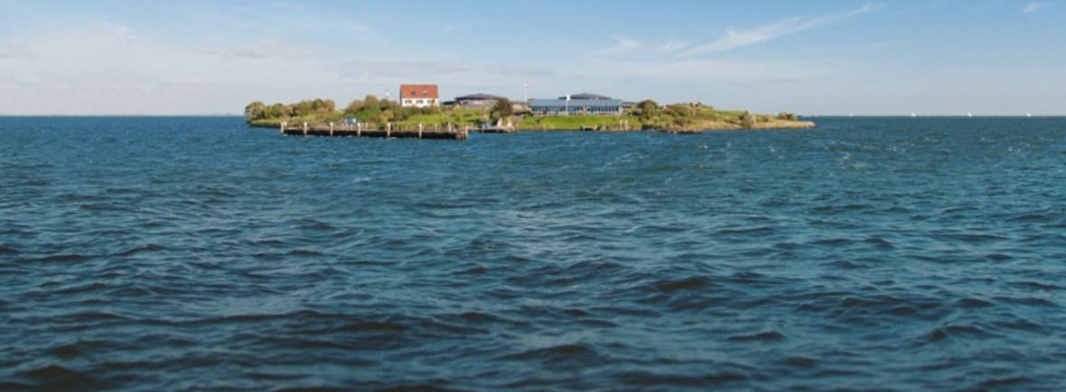 Vaar naar Pampus met de boot vanaf Amsterdam IJburg