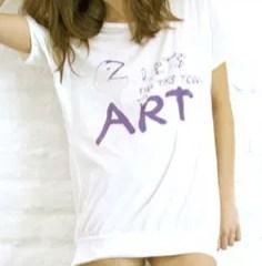Quando l'arte e l'ecologia si fondono in una t-shirts