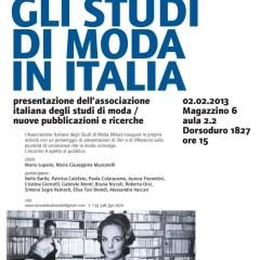 Venezia 2.2.2013: l'Università parla di moda