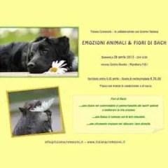 Emozioni animali: Tiziana Cremesini il 28 aprile a Marghera-Venezia