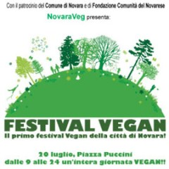 Novareg: festa veg a Novara 20 luglio 2013