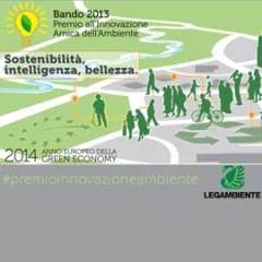Bando 2013 Premio all'Innovazione amica dell'Ambiente!