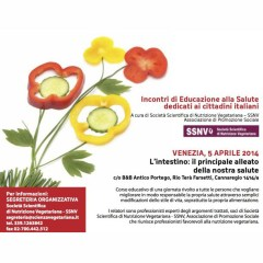 Alimentazione e salute a Venezia il 5 aprile