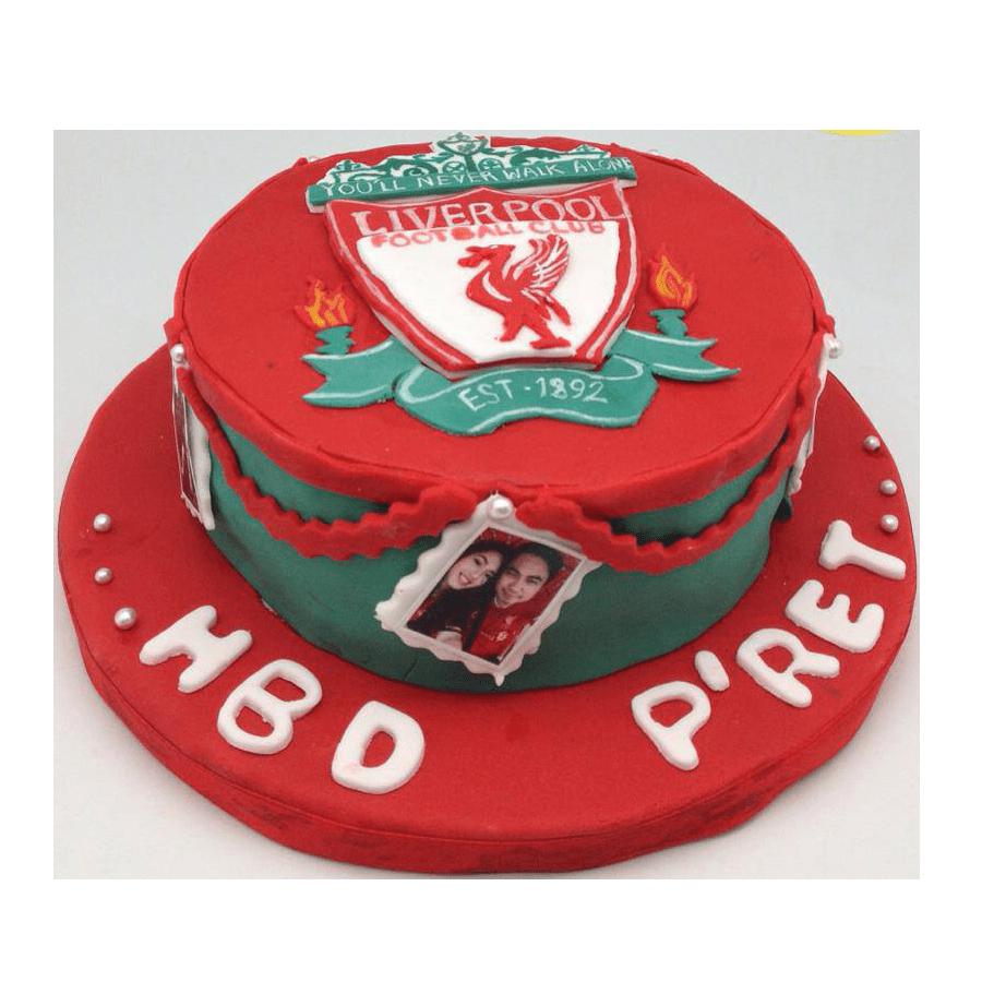 เค้ก3มิติ เค้กวันเกิด Soccer Fans