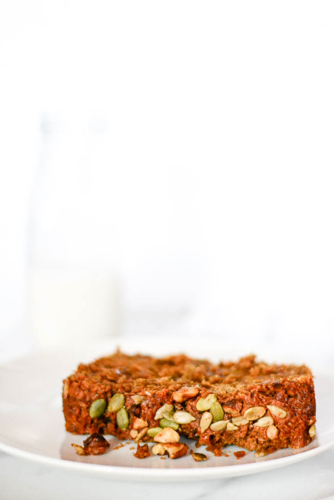 Try our award-winning vegan sweet potato bread recipe. It's the best! #vegan #bread #recipe