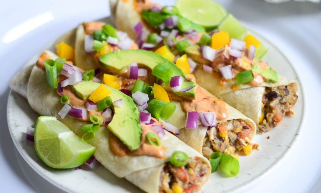This vegan taco recipe is the most delicious! It's been voted number 1 in our kitchen and you're gonna love it too!