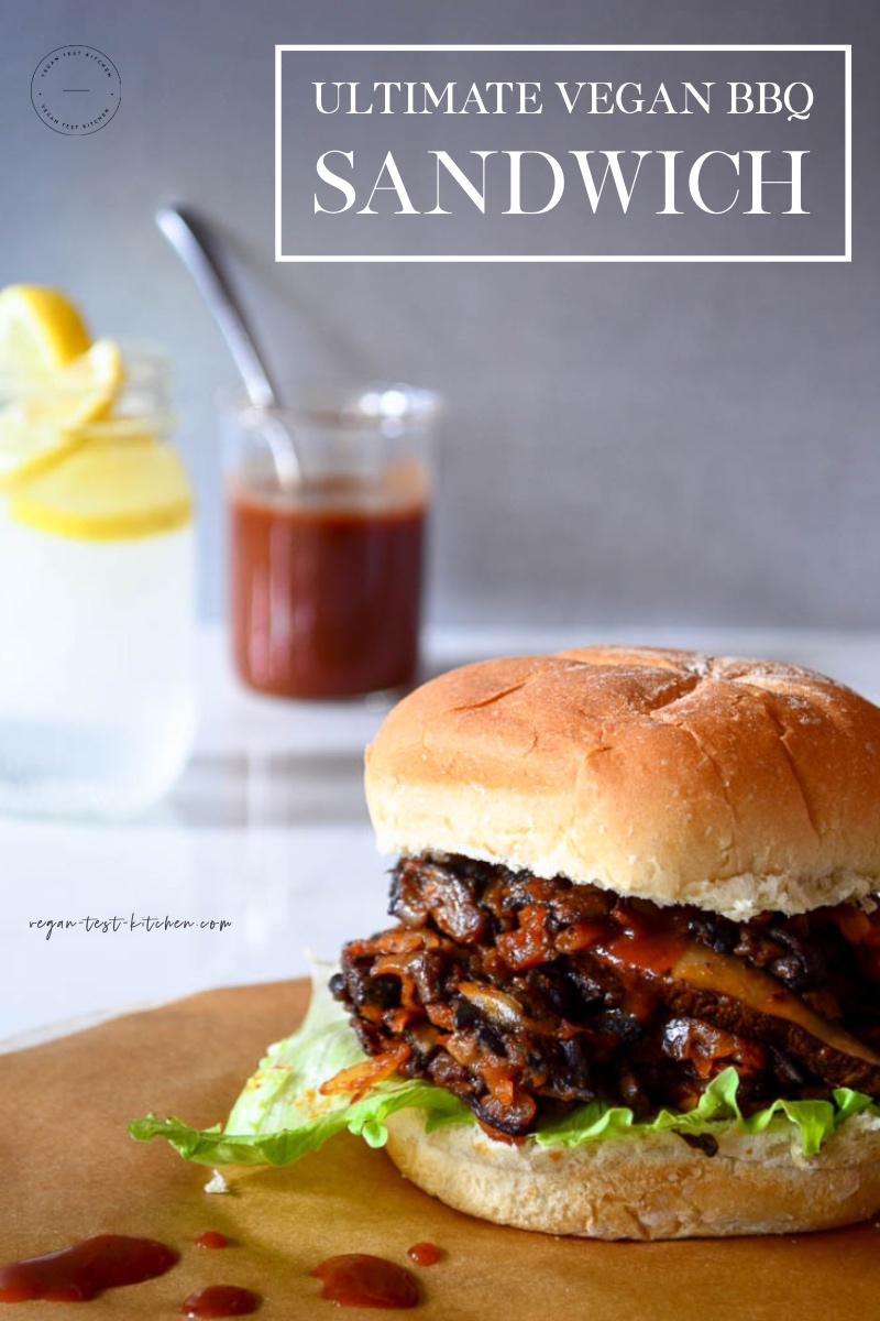 This mouth-watering vegan BBQ sandwich recipe is absolutely delicious and such a crowd-pleaser! Pin it now and cook it when you're craving a quick and tasty vegan BBQ burger. It's so easy to prepare and ready in no time! #veganbbq #veganbbqrecipe #veganbbqsandwich