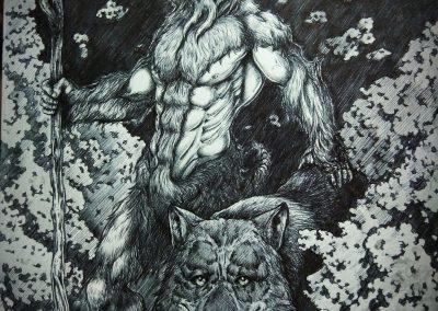 Un Busgosu es el señor de la naturaleza