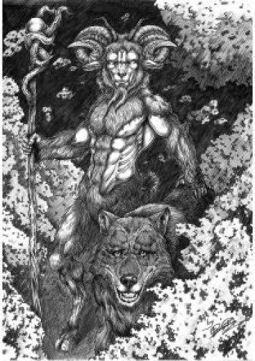 El Busgosu (Dibujo de Roberto Suárez)