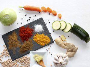 Ingredientes de una receta