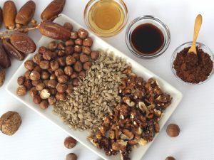 Ingredientes para hacer un Brownie Vegano sin horno