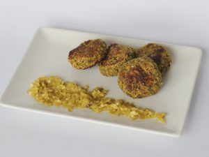 Falafel de Semillas y Pistachos
