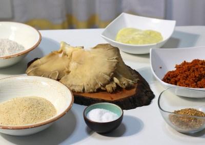 Ingredientes para el Cachopo