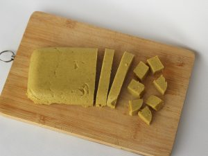 Ejemplo Tofu de Garbanzos Moldeado