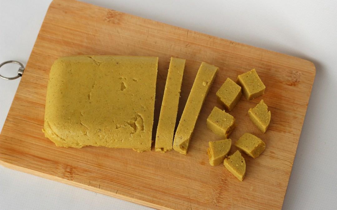 TOFU de GARBANZOS o Tofu Birmano, facilísimo