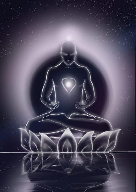Cuerpo Espiritual (Dibujo de Almasu Awen)
