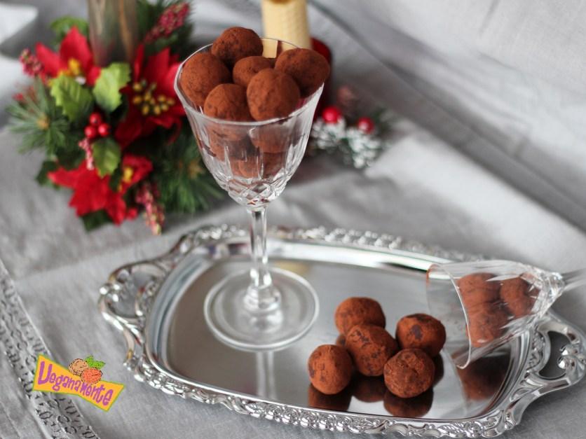 Trufas de Boniato y Chocolate, Recetas Navideñas Veganas