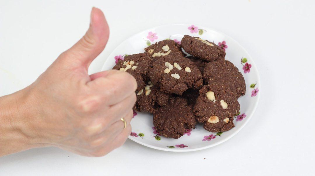 Veganízate! Galletas de Avena y Nutella