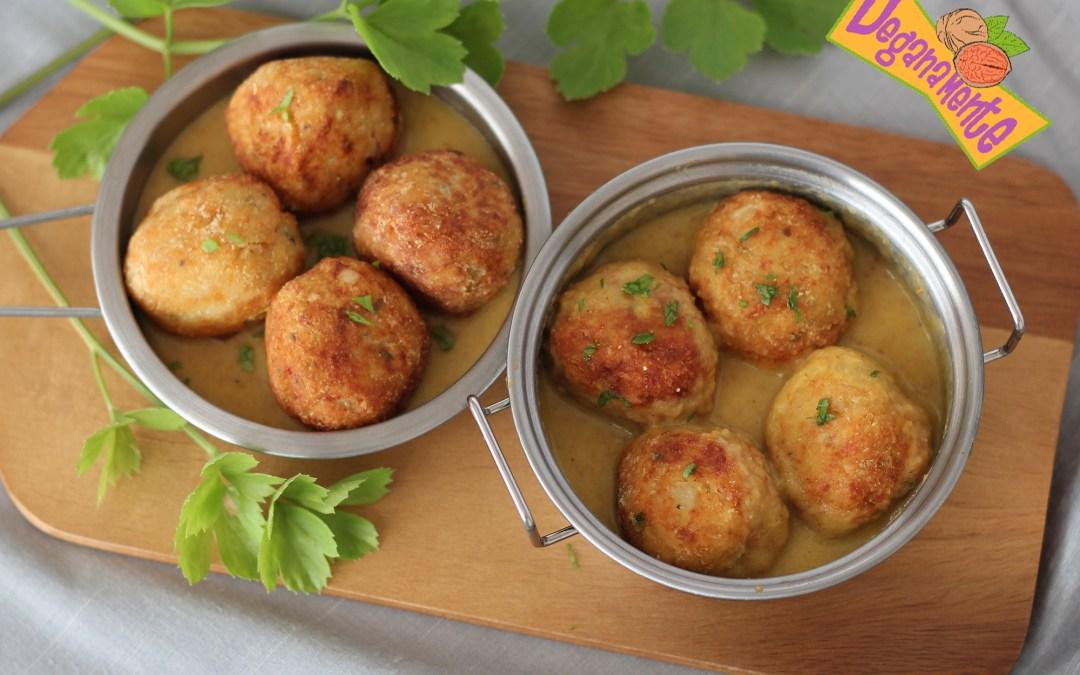 Albóndigas de Tempeh, receta fácil y saludable