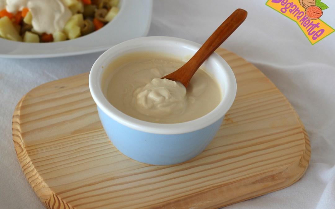 Mayonesa de Tofu, ligera y nutritiva