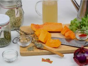 Ingredientes Sopa de Calabaza Asada