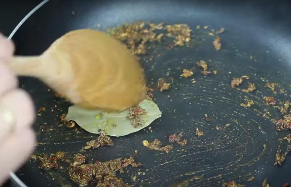 Sopa de Calabaza al Curry, suavizado de espacias