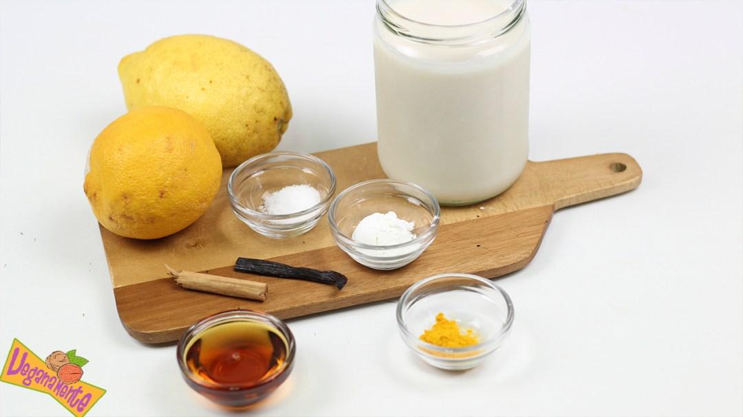 Natillas Sin Huevo - Ingredientes Natillas de Leche de Avena