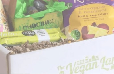 The Vegan Larder Deluxe March Box