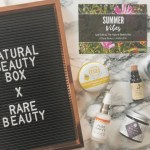 The Natural Beauty Box x Rare Beauty June Box Review + Giveaway!