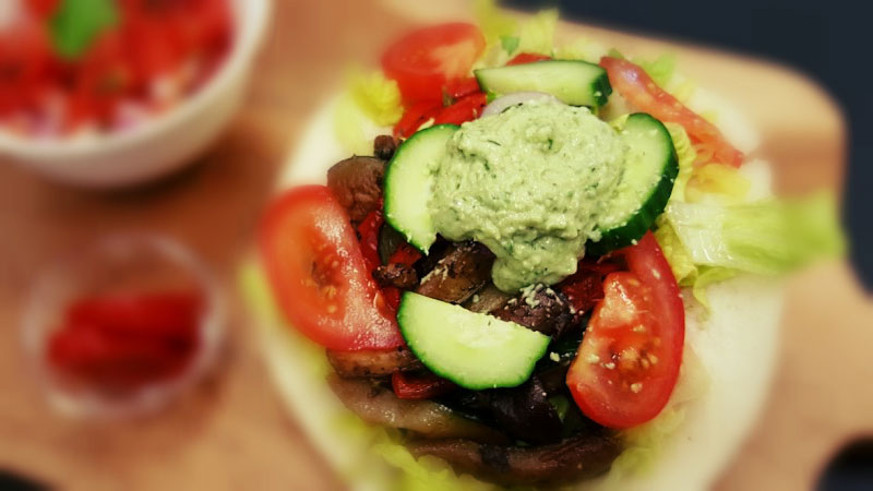 Portabello Tacos - The Vegan Bar