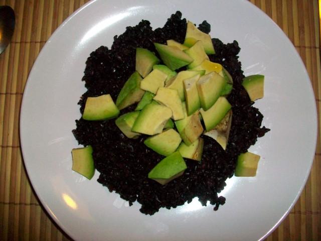 Risultati immagini per immagine riso venere e avocado