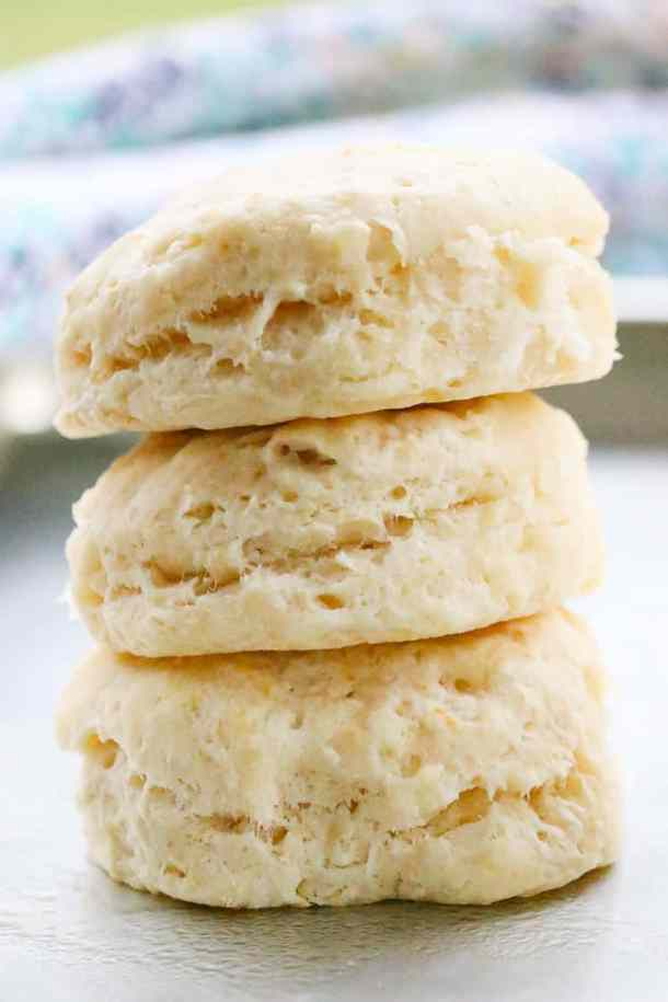 Stacked Fabulous Vegan Biscuits of your dreams!!!