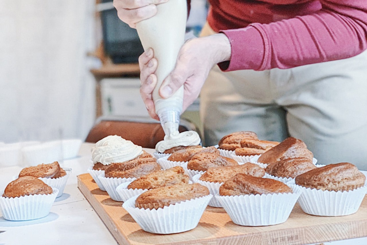 Recette de base cupcake - facile et rapide: vegan