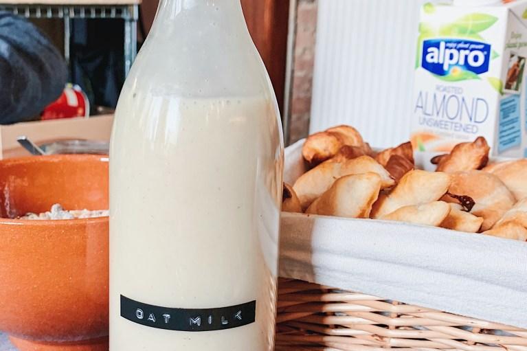 Les Alternatives Végétales Aux Produits Laitiers - lait d'avoine maison