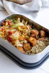La salade de printemps façon asiatique - lunch box Black Bum