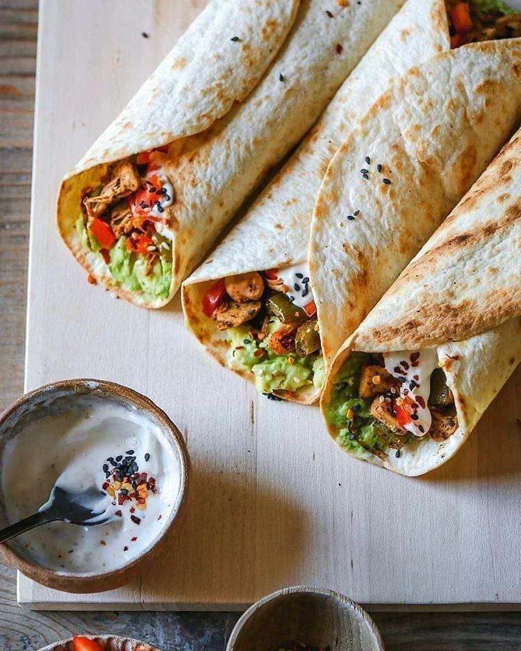 quick & easy vegan wraps by lucy and lentils display image  91f175e8