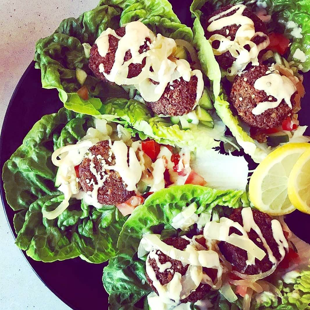 baked falafel lettuce wraps yumm one of my faves multip img 0 ed1a4c16