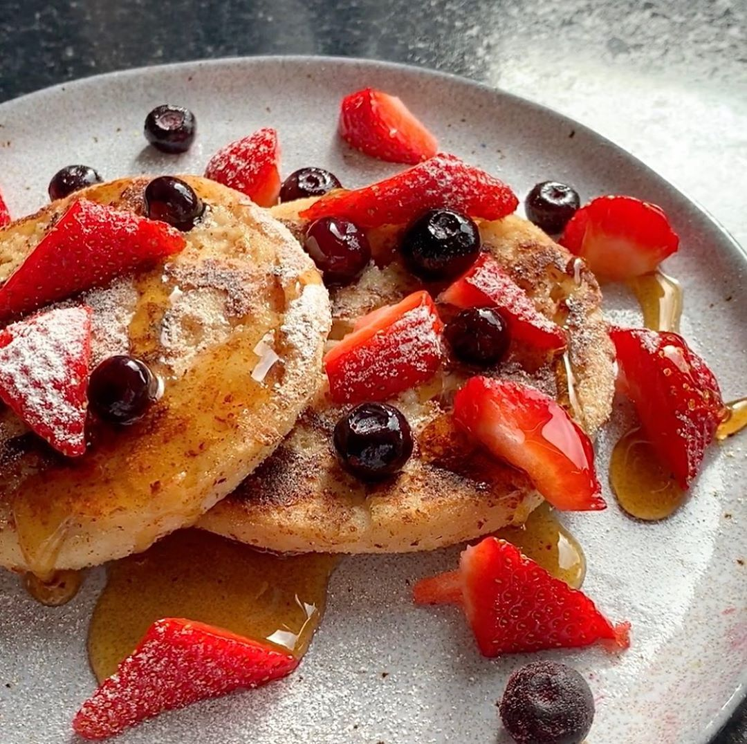 berry french toast english muffin display image  6d434b26