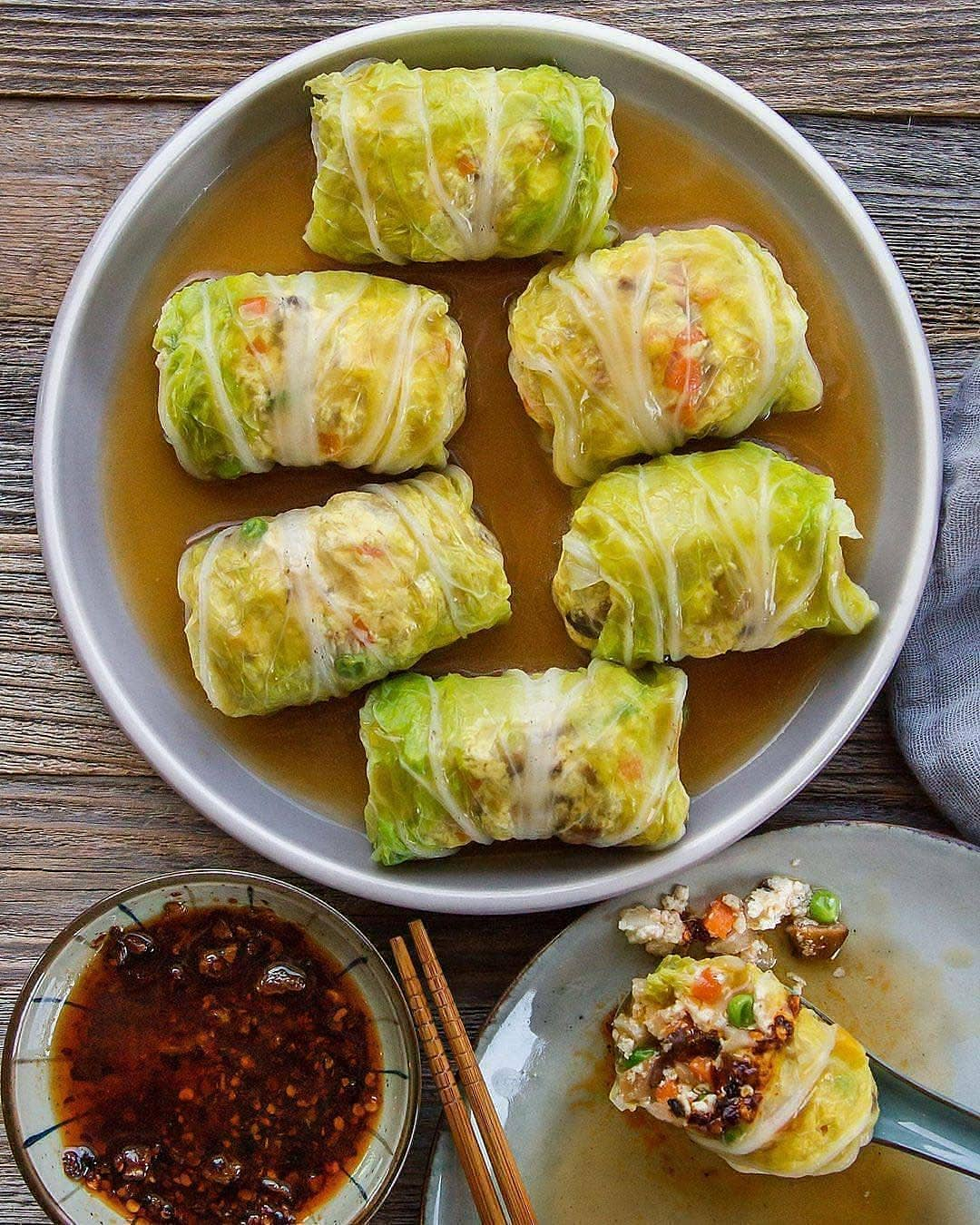 stuffed cabbage rolls a cozy & comforting dish made with n display image  9b3ead8d