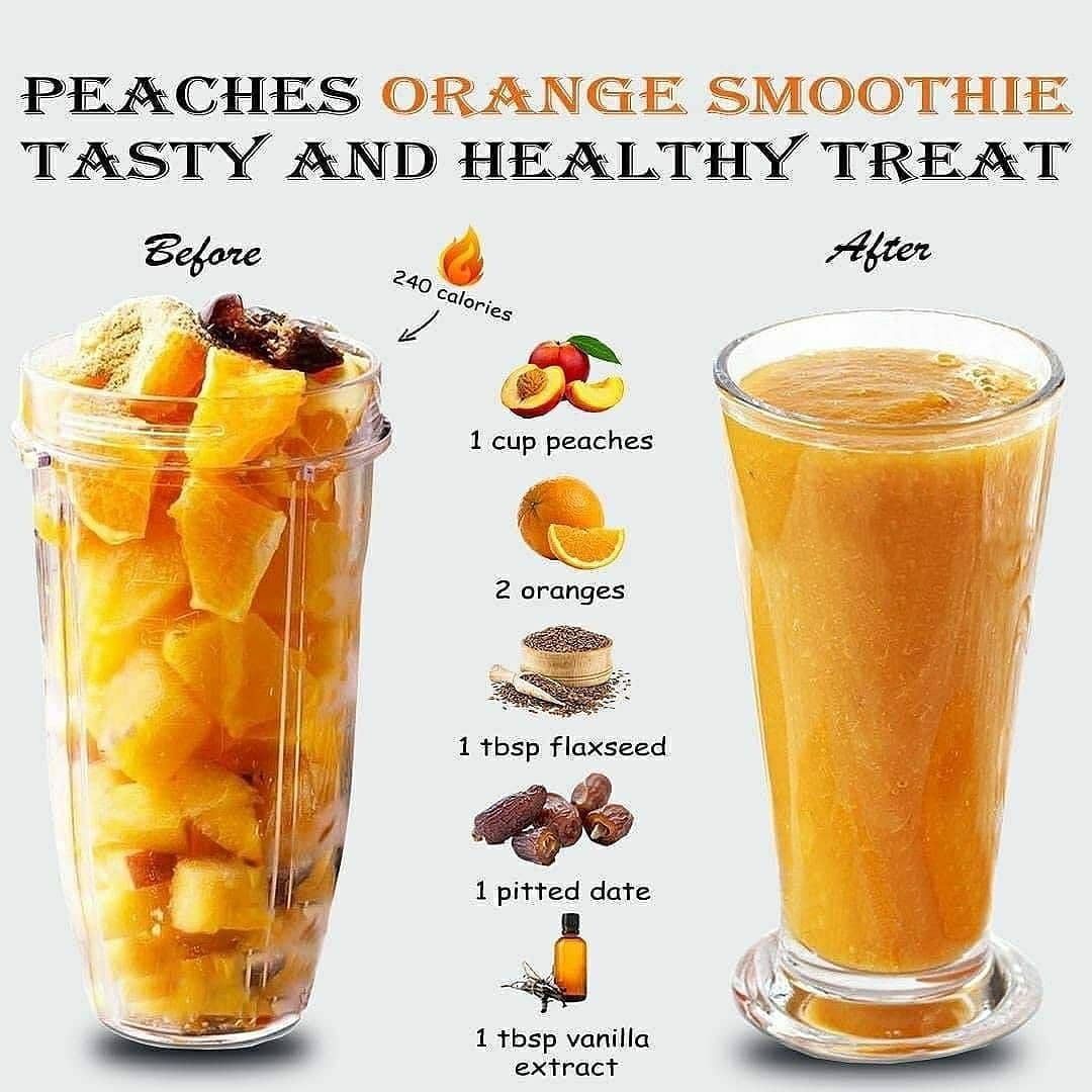 this fresh and easy orange smoothie recipe isprovides a ton display image  36f93945