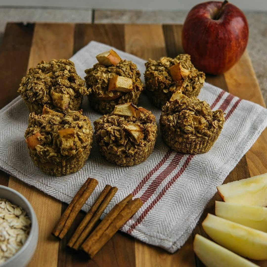 apple pie muffins display image  d24a044f
