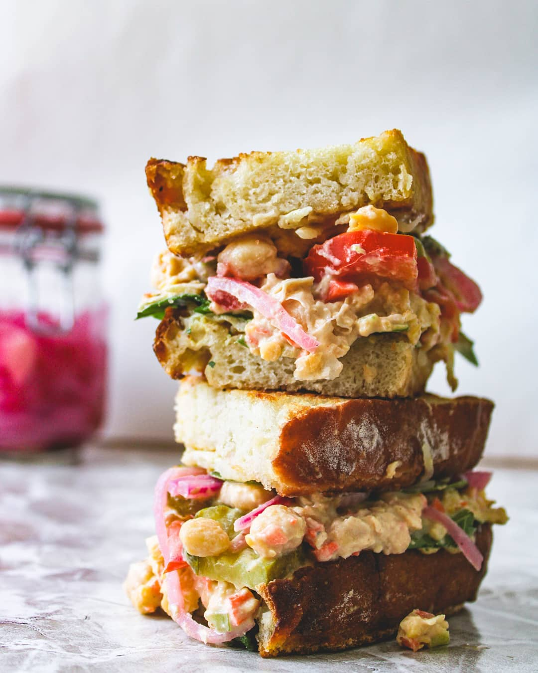 looking for new sandwich inspo try this chickpea salad sammi display image  bfa4df25