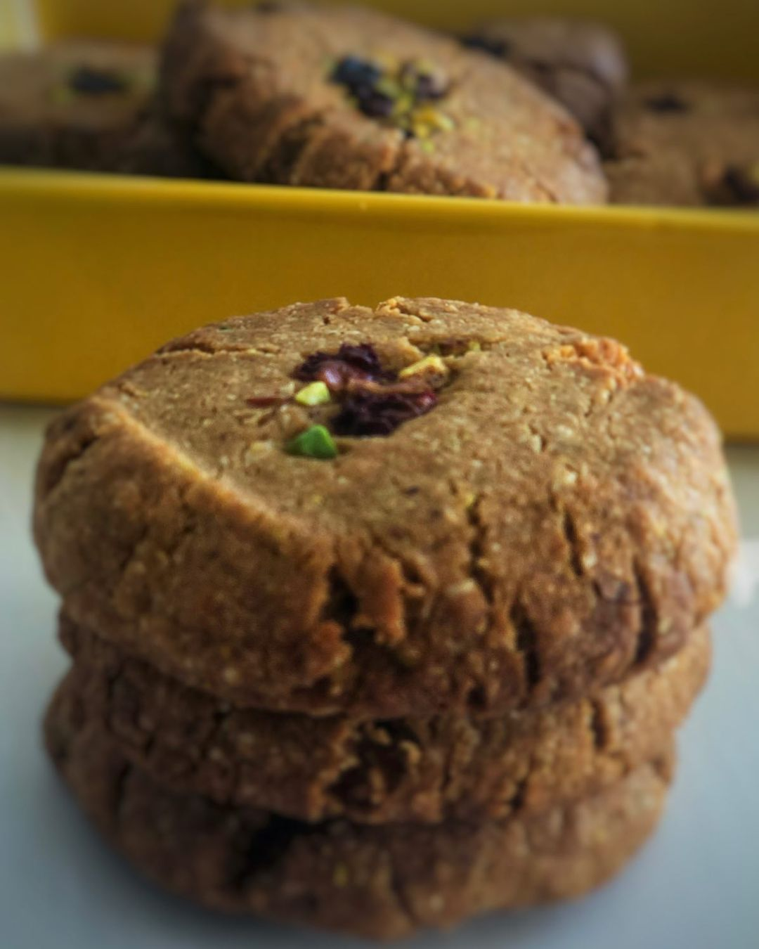vegan nankhatai a melt in the mouth indian cookie display image  7f711e34