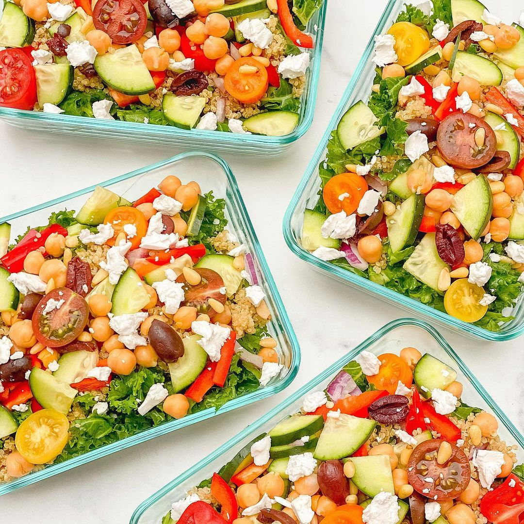 starting monday off with meals planned prepped and ready i display image  35e001d2