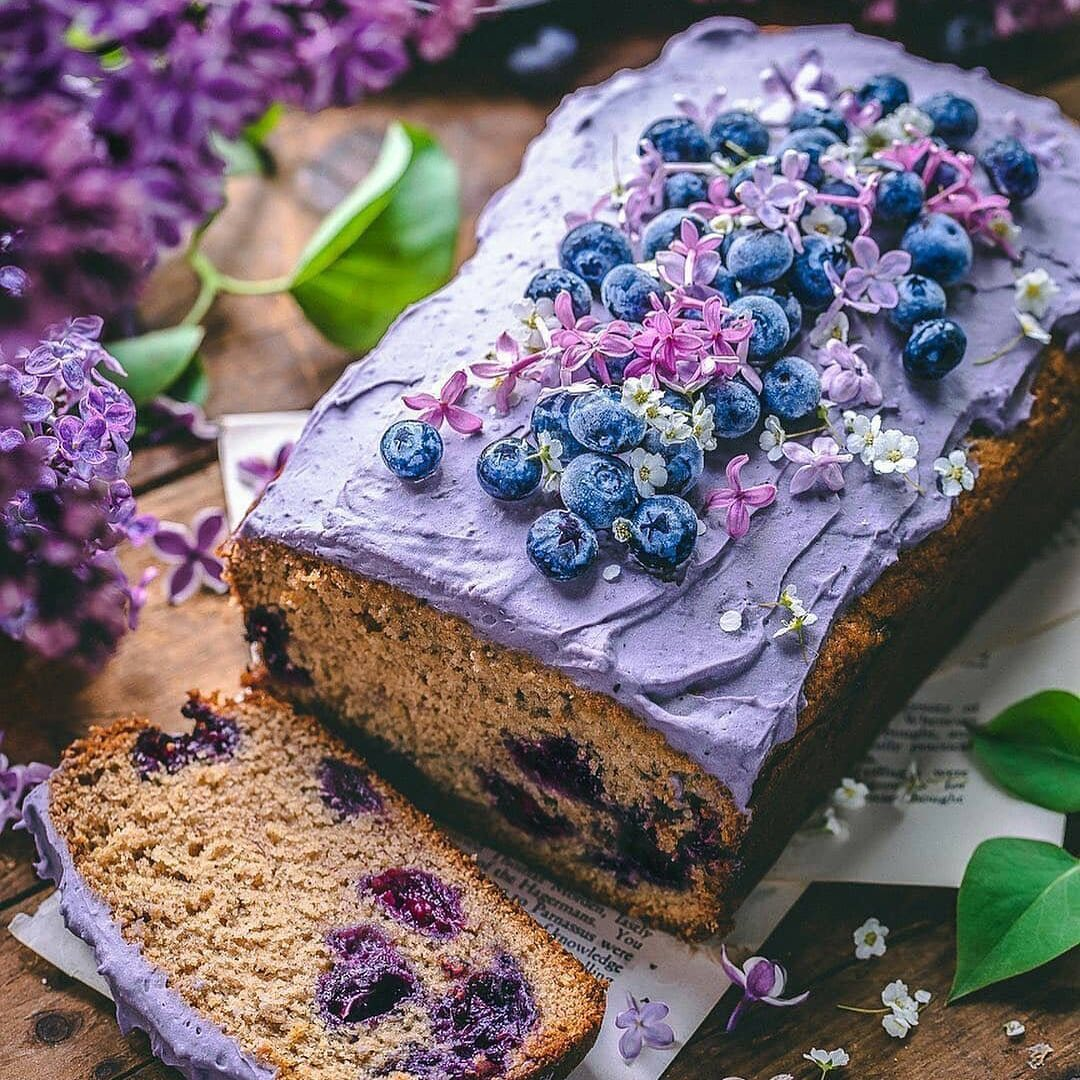 wild blueberry loaf cake by sculptedkitchen happy new da display image  8aa9cf17