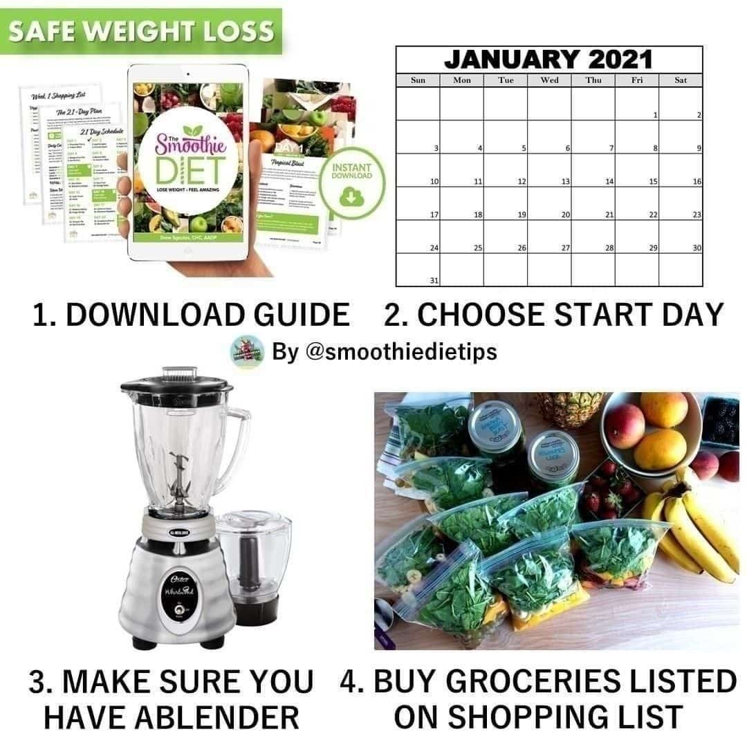 starting the smoothie diet is as easy a display image  a3a6df7b