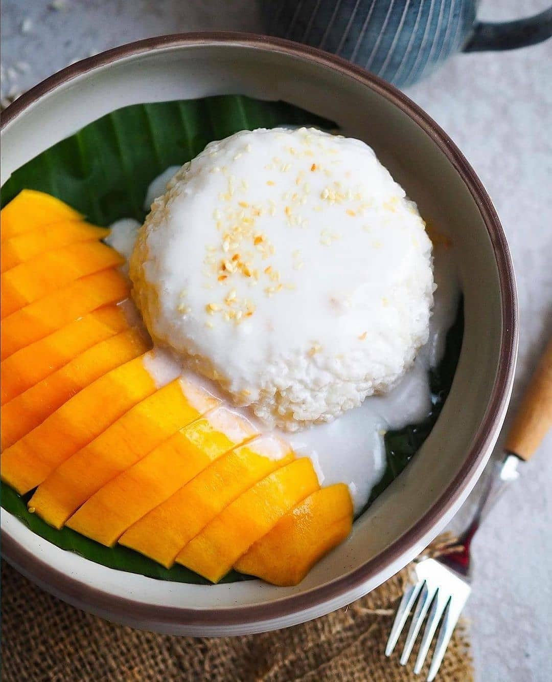 mango sicky rice by foodpassionical display image bcfbf