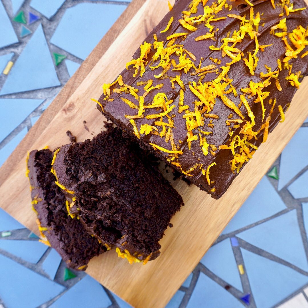 this dreamy chocolate orange cake from mybitontheside use display image  6270a95d