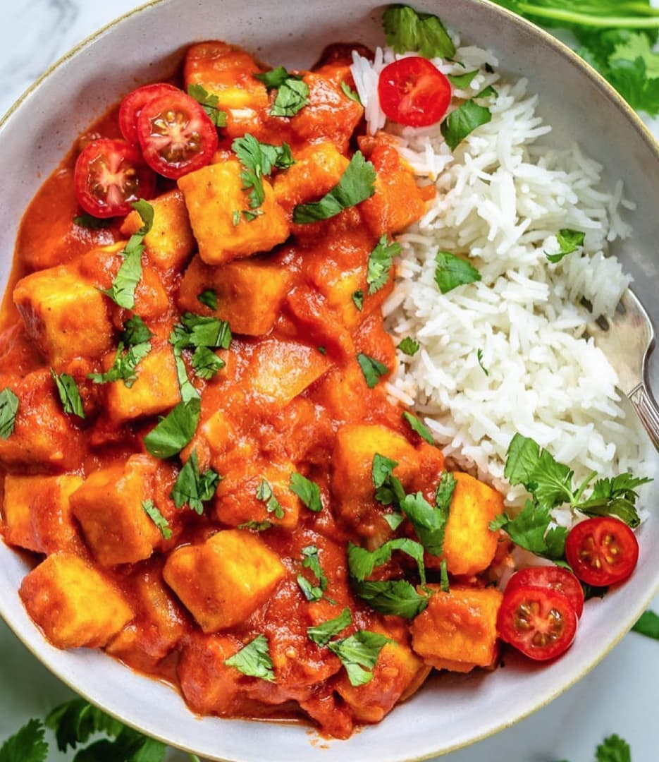 vegan butter chicken by twospoonsca made with ba display image dbdc