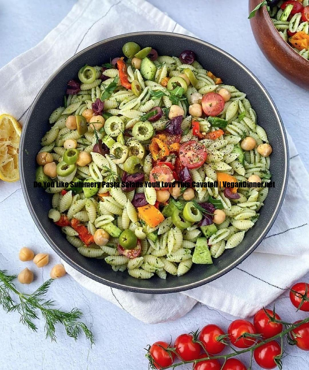 do you like summery pasta salads youll love this cavatell display image beb